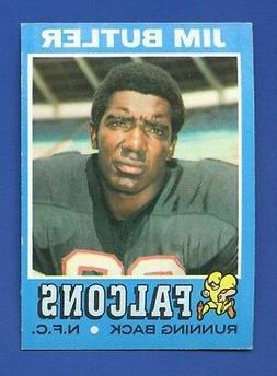 1971 Topps # 2 Jim Butler  Atlanta Falcons  NM  High Grade S