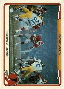 1982 Fleer Team Action Football Cards 1-88  - You Pick - 10+