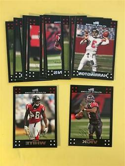 2007 Topps Atlanta Falcons Team Set 14 Cards