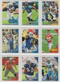 2010 topps football team sets pick your