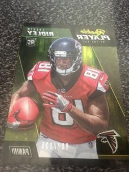 2018 PANINI ROOKIE PLAYER OF THE DAY CALVIN RIDLEY R-9 #70/1