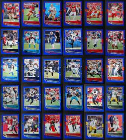 2020 Donruss Blue Press Proof Football Cards Complete Your S