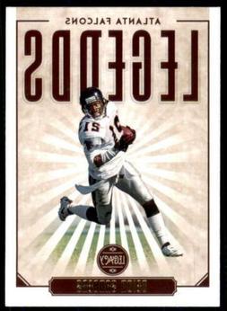 2020 Legacy Legends #101 Deion Sanders - Atlanta Falcons