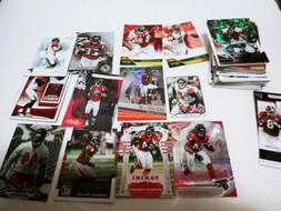 60+ Atlanta Falcons football card lot: lots of Julio Jones a