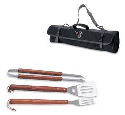BBQ Atlanta Falcons GRILLING SET w/ Carrying Case NFL Cookin