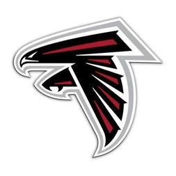 "Atlanta Falcons 12"" Right Logo Car Magnet"