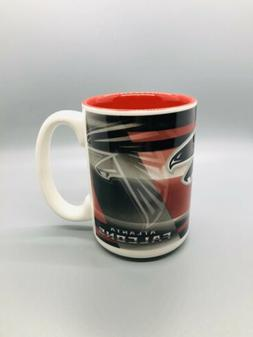 ATLANTA FALCONS 15oz SHADOW STYLE COFFEE MUG CERAMIC NEW FRE