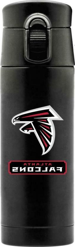 ATLANTA FALCONS 16oz STAINLESS STEEL COFFEE THERMOS FROM DUC