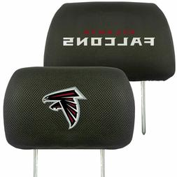 Atlanta Falcons 2-Pack Auto Car Truck Embroidered Headrest C