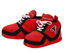 FOCO Atlanta Falcons 2015 Sneaker Slipper Small NWT 100% AUT