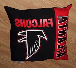Atlanta Falcons 27 x 27 Throw Pillow ~NEW~NFL GEAR