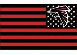 Atlanta Falcons 3x5 Ft American Flag Football New In Packagi