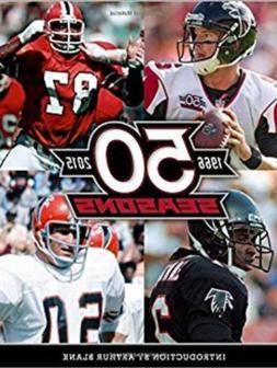 Atlanta Falcons 50 Seasons Tribute Book- Brand New
