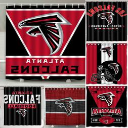 "Atlanta Falcons 72"" x 72""  Waterproof Bathroom Shower Curtai"