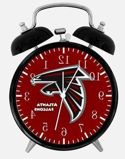 """Atlanta Falcons Alarm Desk Clock 3.75"""" Home or Office Decor"""