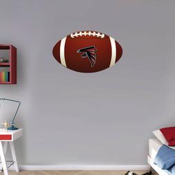 Atlanta Falcons Bird NFL Logo Ball Art Wall Decor Sticker -