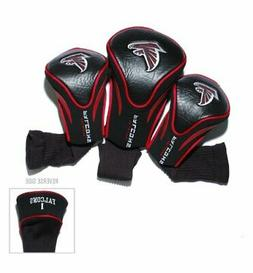 Atlanta Falcons Black-Red Three-Pack Contor Fit Golf Club He