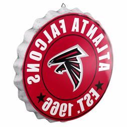 Atlanta Falcons Bottle Cap Sign - Est 1966 - Room Bar Decor