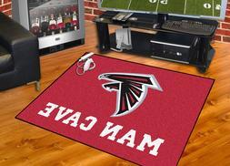"Atlanta Falcons Man Cave 34""x43"" All-Star Area Rug Mat"