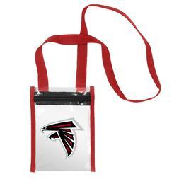 Atlanta Falcons CLEAR Crossbody Tote Bag Purse Stadium Secur