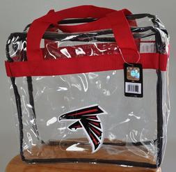 Atlanta Falcons CLEAR Messenger Tote Bag Purse - Meets Stadi