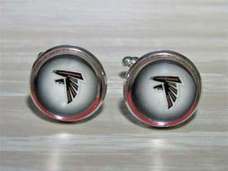 Atlanta Falcons Cufflinks made from Football Trading Cards U
