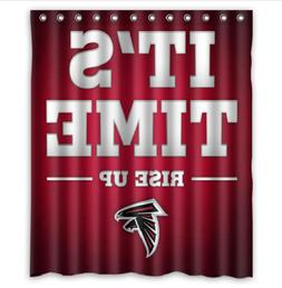 Atlanta falcons Custom Bathroom Shower Curtain 60x72 Inches