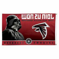 Atlanta Falcons Darth Vader Star Wars Large Outdoor Flag