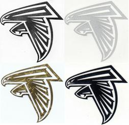 Atlanta Falcons decal sticker sizes up to 12 inches Reflecti