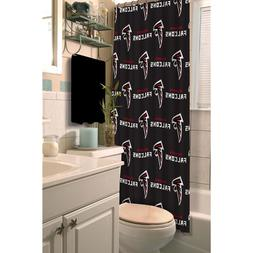 NFL Atlanta Falcons Decorative Bath Collection Shower Curtai
