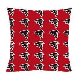 atlanta falcons decorative throw pillow case cushion