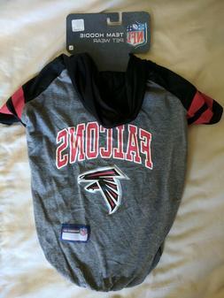 Atlanta Falcons Dog Hoodie T Shirt Football Fan Pet Gear Cos