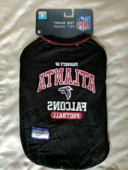 Atlanta Falcons Dog T Shirt Football Fan Pet Gear Costume NE