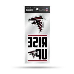 Atlanta Falcons Double UP Decal Sheet Slogan Sticker Auto Ho