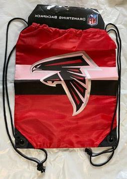 Atlanta Falcons Drawstring Back Pack NEW Back Sack Free Ship