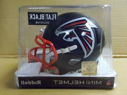 Atlanta Falcons FLAT BLACK Riddell NFL Replica Speed Mini Fo