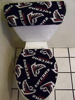 ATLANTA FALCONS FLEECE TOILET SEAT COVER SET