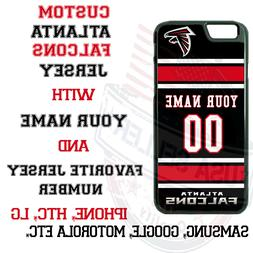 ATLANTA FALCONS FOOTBALL JERSEY PHONE CASE COVER FOR iPHONE