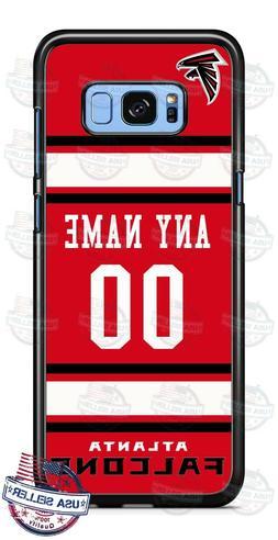 ATLANTA FALCONS FOOTBALL PHONE CASE COVER NAME & No. FOR iPH