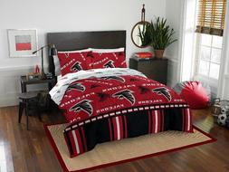 Atlanta Falcons NFL Full Comforter & Sheets, 5 Piece NFL Bed