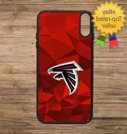 Atlanta Falcons Geo Phone Case for iPhone Galaxy 5 6 7 8 9 X