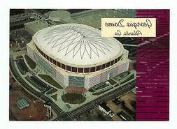 ATLANTA FALCONS GEORGIA DOME POSTCARD