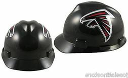 **NEW** Atlanta Falcons Hard Hat NFL MSA Safety Works Helmet