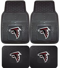 Atlanta Falcons Heavy Duty NFL Floor Mats 2 & 4 pc Sets for