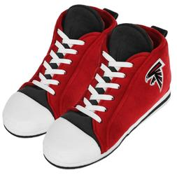Atlanta Falcons High Top Sneaker SLIPPERS New - FREE U.S.A.