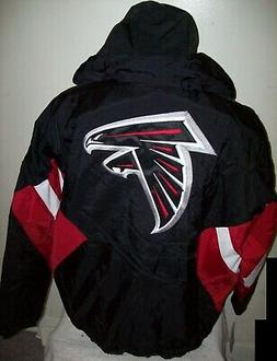 ATLANTA FALCONS Starter Hooded Half Zip Pullover Jacket S M
