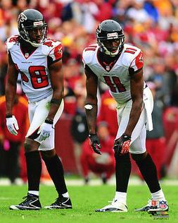 Atlanta Falcons JULIO JONES & RODDY WHITE Glossy 8x10 Photo