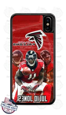 Atlanta Falcons Julio Jones Phone Case Cover Fits iPhone Sam