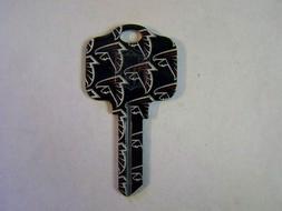 Atlanta Falcons  Kwikset House key blank KW1