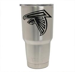 Atlanta Falcons YETI Laser Engraved, Colster, 20 or 30 oz. T